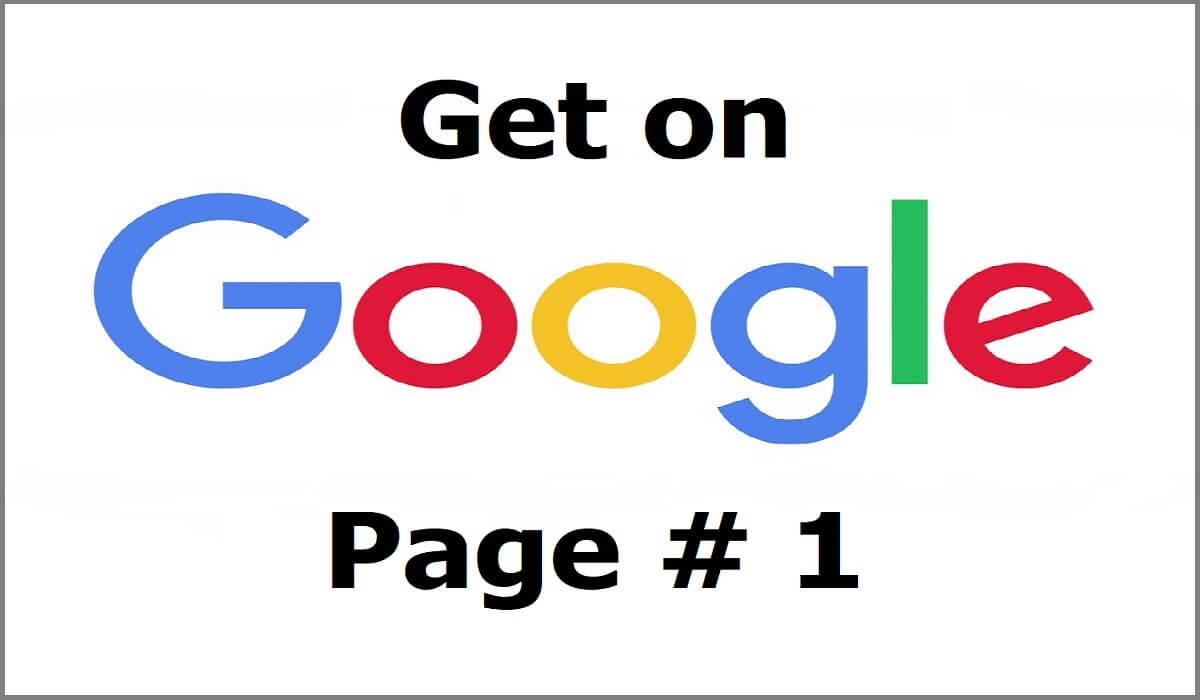 Google Page 1 Home Slider