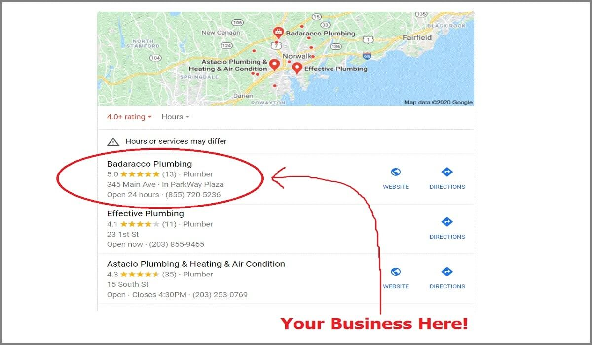 Google My Bbusiness Home Slider