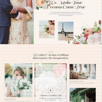 Wedding Planner Website
