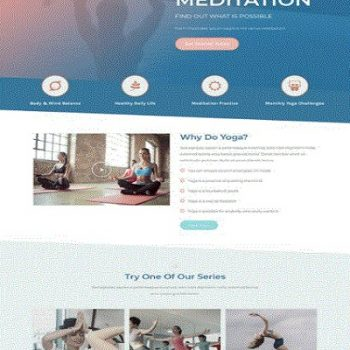 Yoga CT Website Design